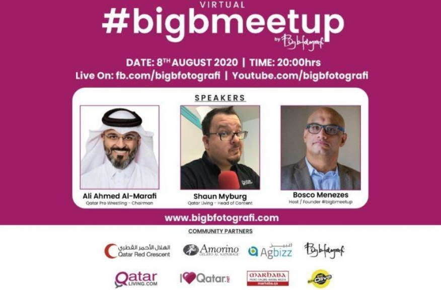 Virtual Big B Meet Up Ali Al Marafi Shaun Myburg